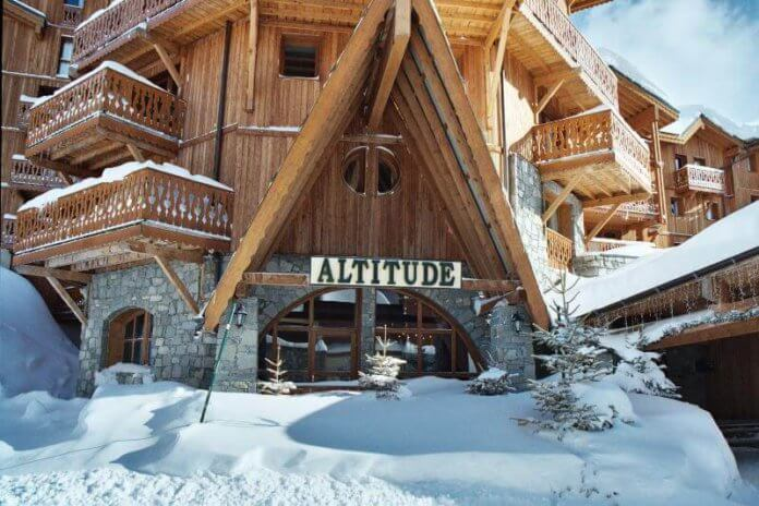 Chalet Altitude in Val Thorens.