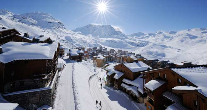 winterstarter in Val Thorens