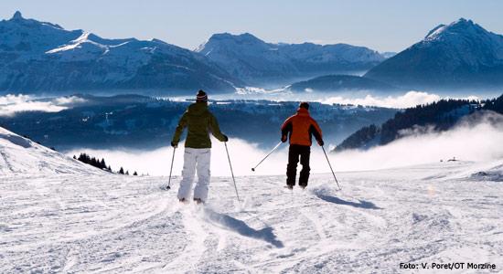 Skien in Morzine