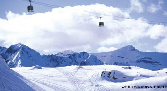 Skiliften Les Deux Alpes