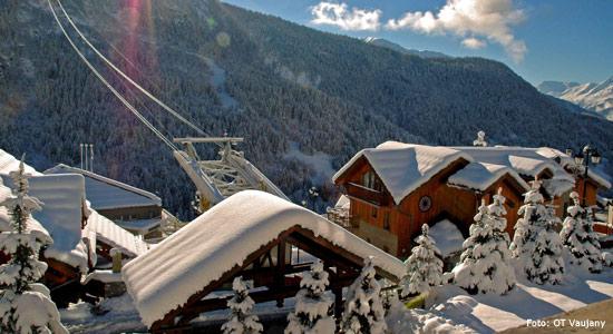 Skigebied Vaujany
