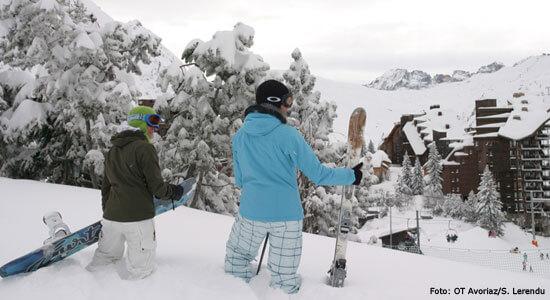 Skien in Avoriaz