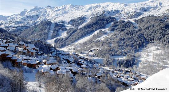 Wintersport in Meribel: luxe chalets in groot skigebied