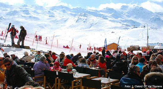 Val Thorens apres ski