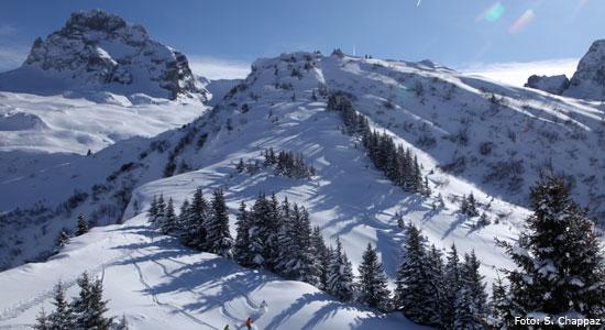 Skigebied Lake Annecy Skiresorts: veelzijdig skien in Massif des Aravis