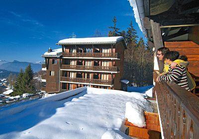 Résidence Le Front de Neige: ski in, ski out appartementen in Les Carroz