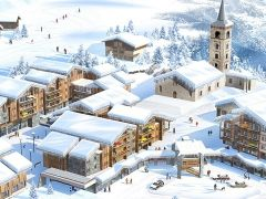 4* Chalet-appartementen CGH Résidence Kalinda Village in Tignes 1800