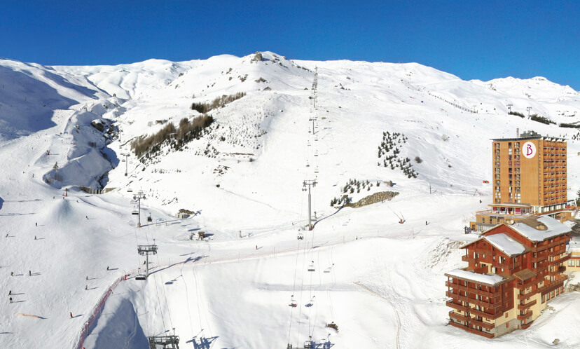 Wintersport – Orcières 1850 – Résidence Le Roc Blanc