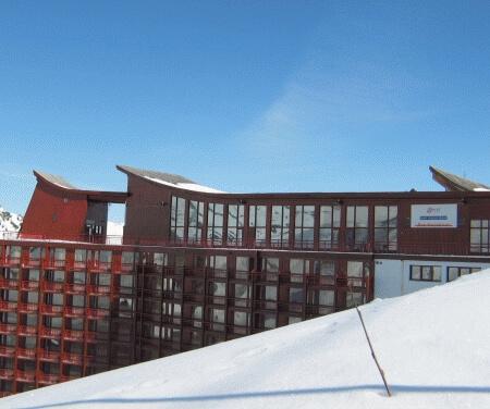 Wintersport – Arc 2000 – Hotel L'Aiguille Rouge