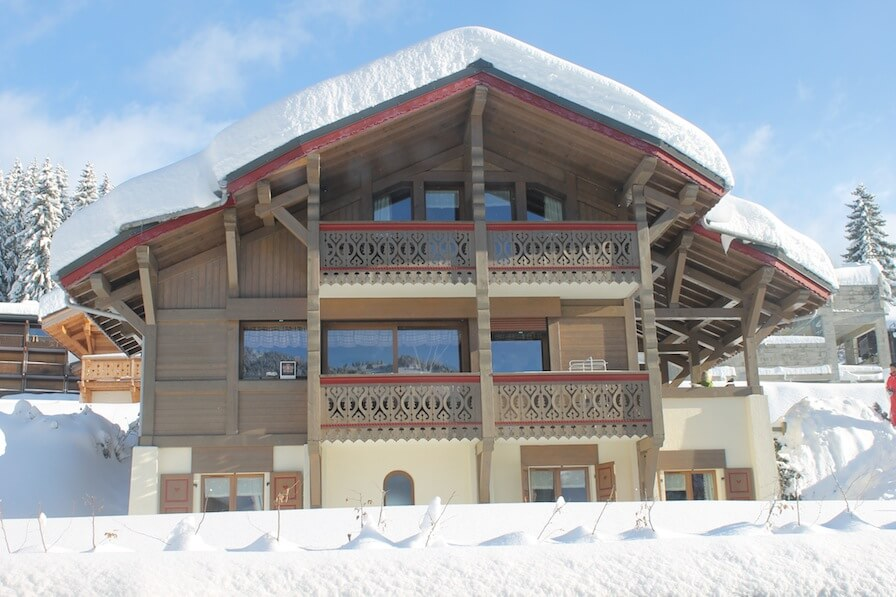 Wintersport – Les Gets – Chalet-appartement Les Chalets d'Adelphine