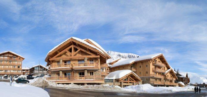 Alpe d'Huez Chalet Appartement Le Cristal de l'Alpe.