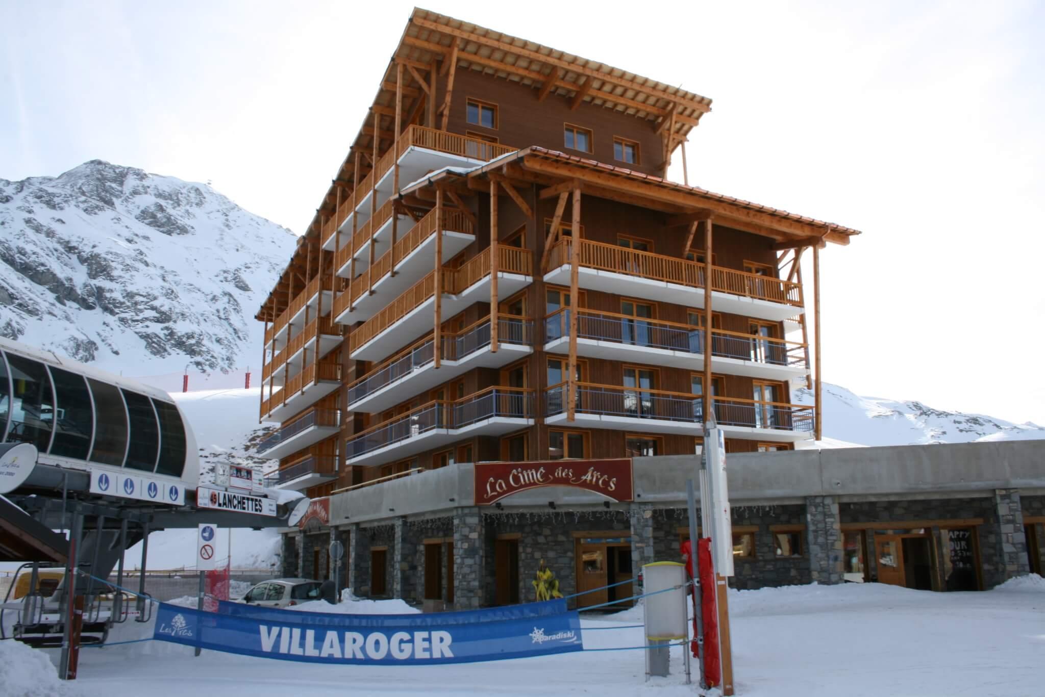 Wintersport – Arc 2000 – Chalet-appartement Chalet des Neiges La Cîme des Arcs