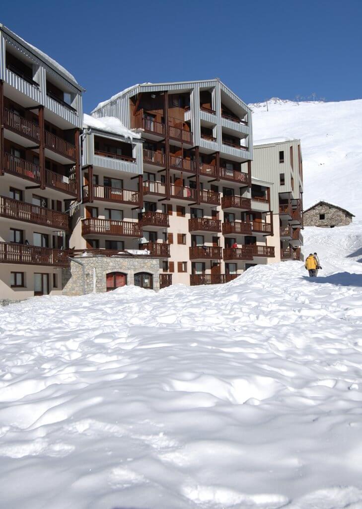Résidence-Club Odalys Le Hameau du Borsat: 3* studio's en appartementen in Tignes Val Claret