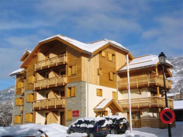 Résidence Le Chalet l'Éterlou: 3* appartementen voor 4 – 6 personen in Serre Chevalier