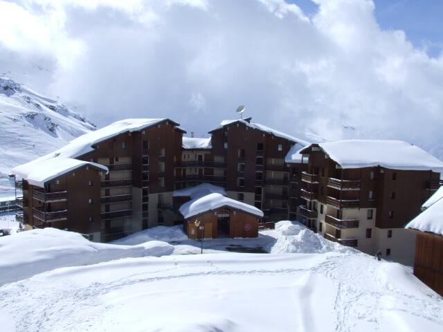 Appartementen aan de piste in La Reine Blanche Val Thorens
