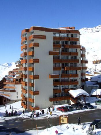 Appartementen Dome de Polset Val Thorens.
