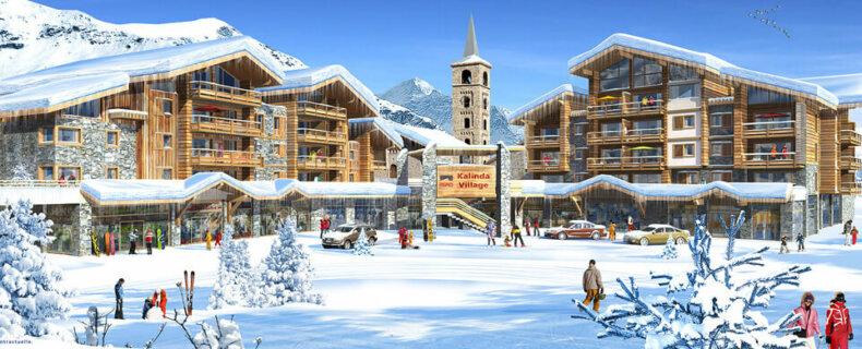 Kalinda Village in Tignes 1800 © Snowtime