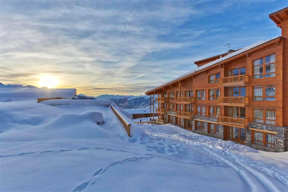 Wintersport – Arc 1800 – Résidence Edenarc – Arc 1800