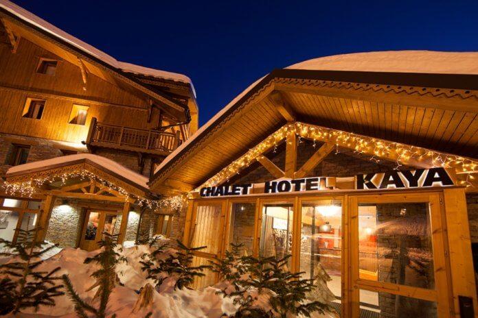 Hotel Le Kaya in Les Menuires.
