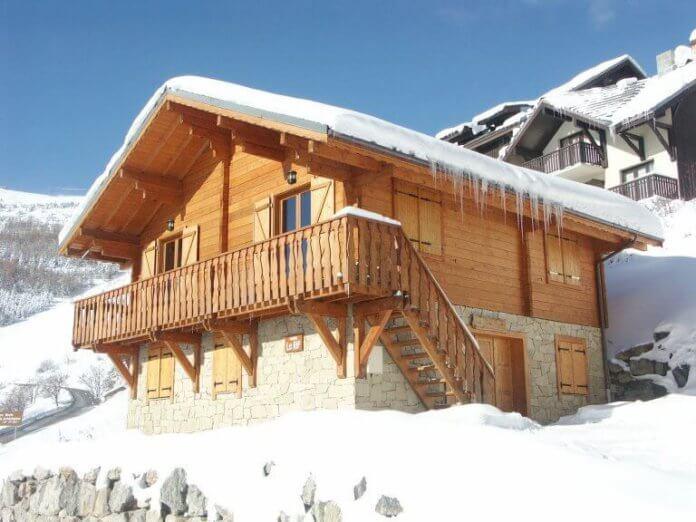 Chalet Sapins in Alpe d'Huez © Snowtime