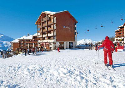 Wintersport – Plagne Soleil – Plagne Villages – Résidence Le Cervin