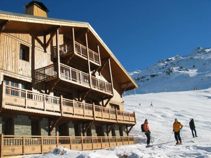 Wintersport Les Menuires: 4* Chalet-appartementen Du Soleil 4-12 personen