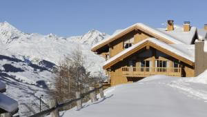 4* Résidence CGH l'Oree des Neiges: ski in ski out appartementen in Vallandry