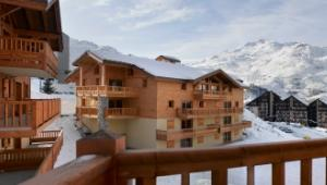 Luxe wintersport appartementen in Les Menuires: Chalet-appartement CGH Résidence Les Clarines – 2-10 personen