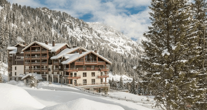 Wintersport Flaine: luxe 5* appartementen Les Terrasses d'Hélios