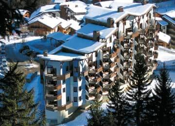 Résidence La Saboïa: appartementen aan de piste met eigen sauna in La Tania
