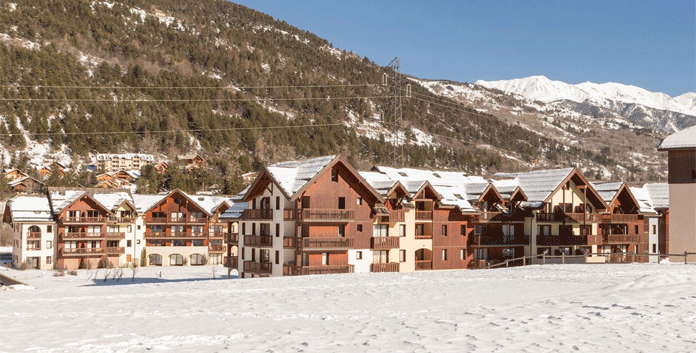 Résidence L'Alpaga: 3 * appartementen in Serre Chevalier