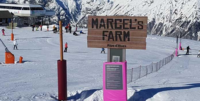 Piste ludique, oftewel funslope in Alpe d'Huez © WintersportFrankrijkGids.nl