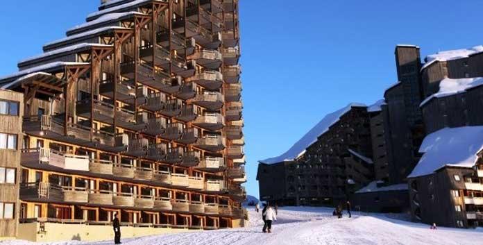 Résidence Malinka in Avoriaz: Goedkope wintersport appartementen aan de piste in Avoriaz