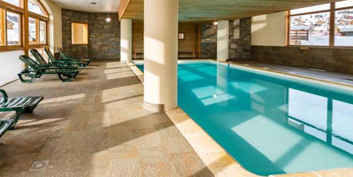 appartementen met zwembad L'Ecrin des Sybelles in La Toussuire