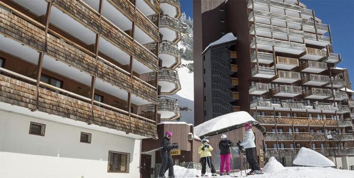 Résidence Antares in Avoriaz © Pierre et Vacances.