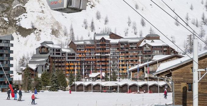 Les Balcons de Bellevarde in Val d'Isère © Pierre et Vacances.