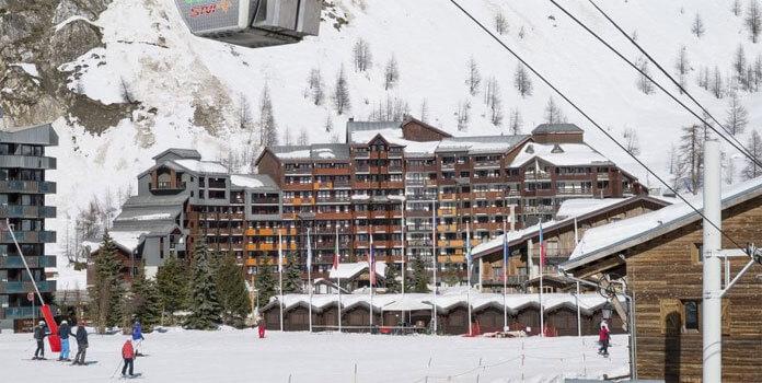 Les Balcons de Bellevarde: appartementen aan de piste in Val d'Isère