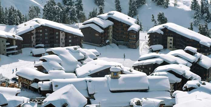 Op wintersport in skigebied La Plagne (Paradiski)
