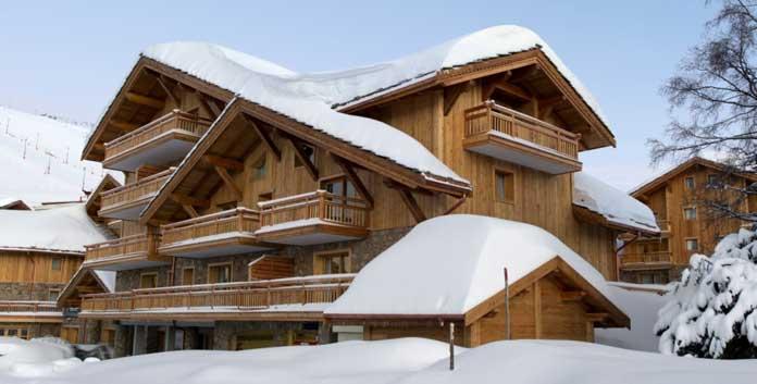 Wintersport in Alpe d'Huez: Chalet-appartement CGH Le Cristal de l'Alpe – 2-10 personen
