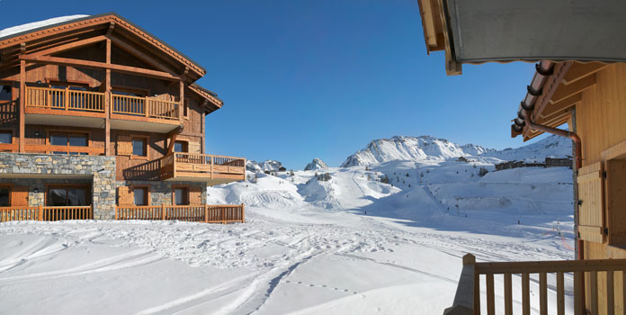 Wintersport Plagne Soleil – Plagne Villages: Chalet-appartement Les Granges du Soleil