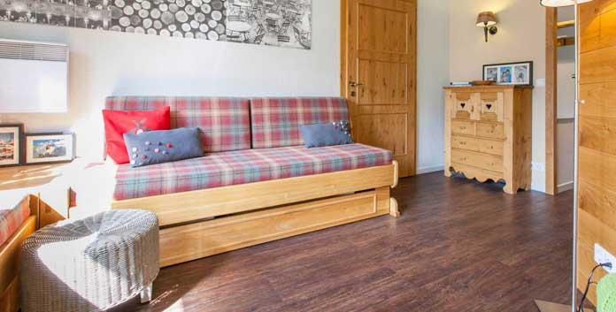 Wintersport Avoriaz: appartementen aan de piste in Résidence Cedrat