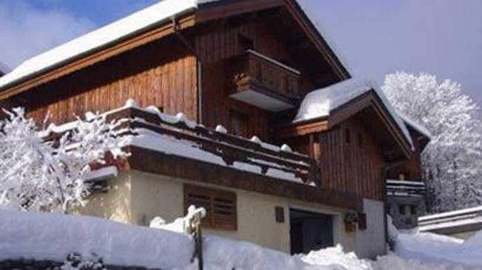 Wintersport in Méribel: Chalet Le Raffort