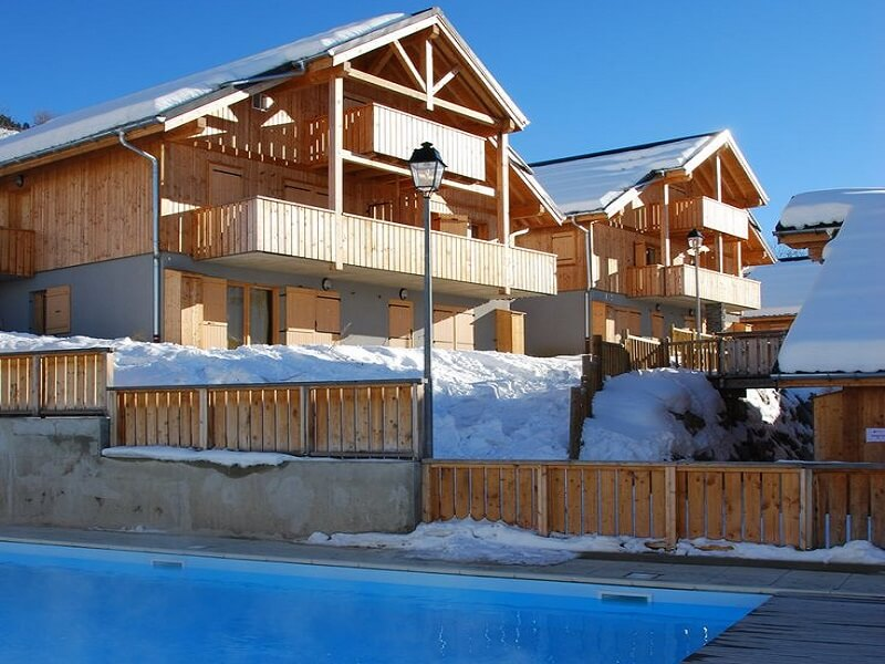 Chalet appartementen Des Ecourts in Saint Jean d' Arves
