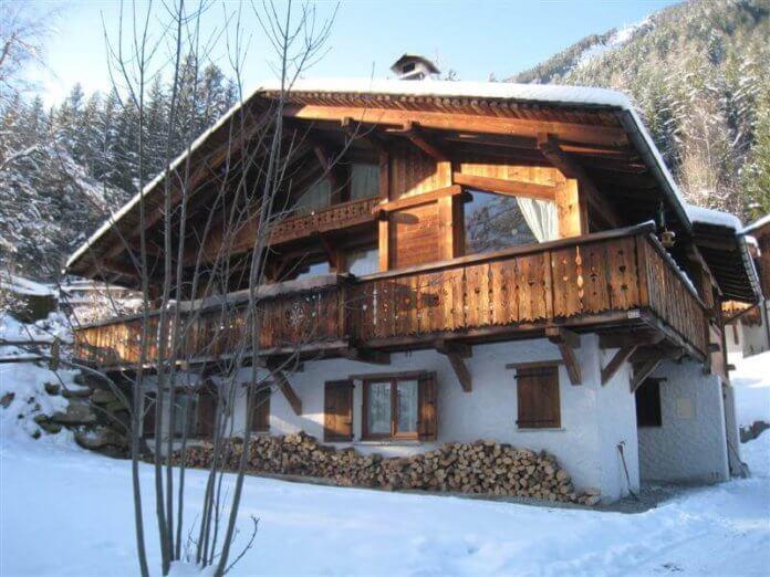 Chalet Algonquin: chalet voor 10 personen aan de piste in Chamonix