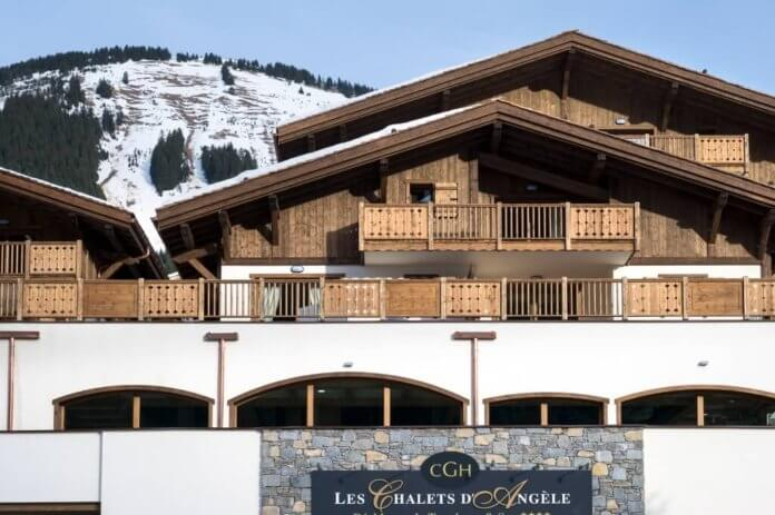 Châtel: Zwembad in Chalet-appartement CGH Les Chalets d'Angele.