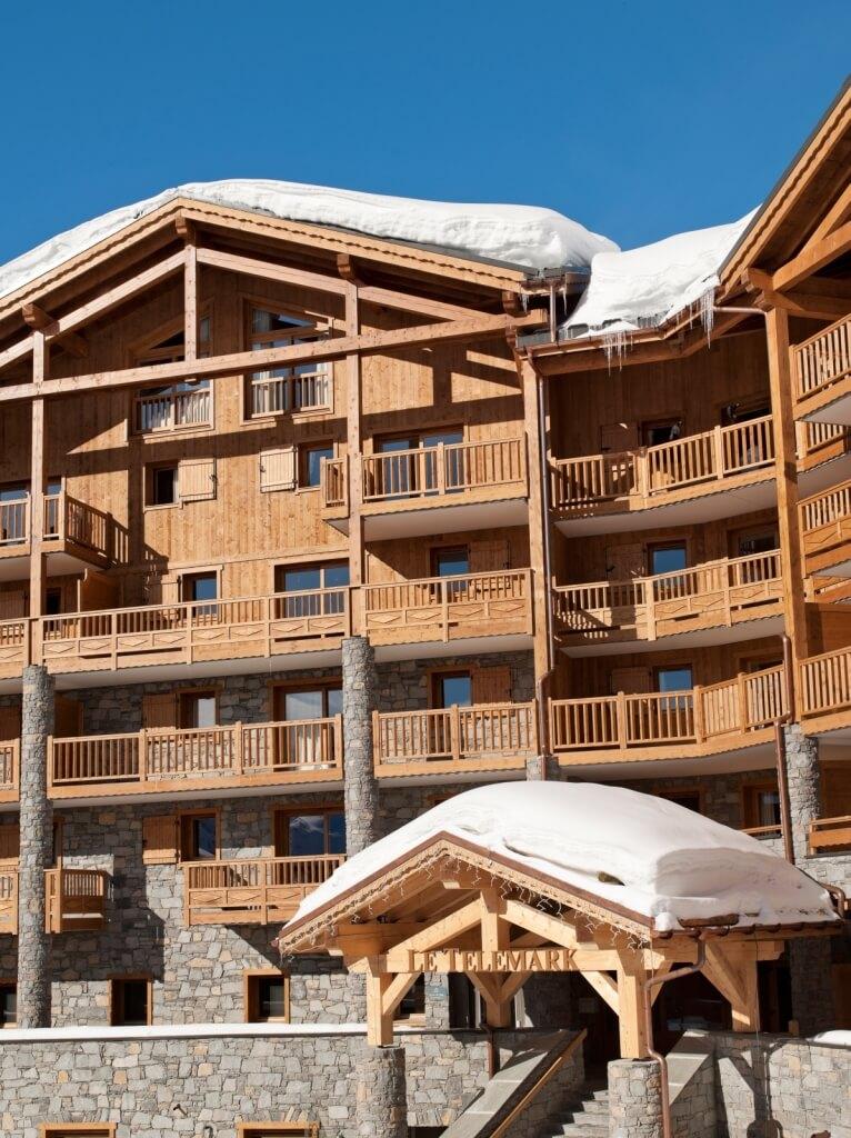 Appartementen Le Telemark in Tignes Le Lac.