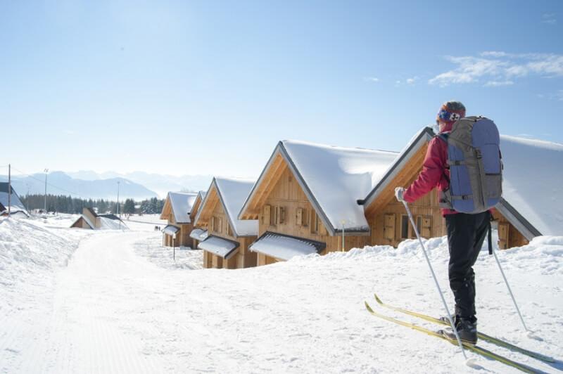 Chalets aan de piste: Chalets Du Berger in La Féclaz in Savoie Grand Revard