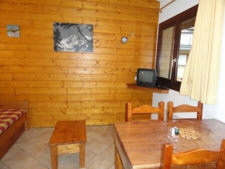Appartementen Le Village in het centrum van La Norma
