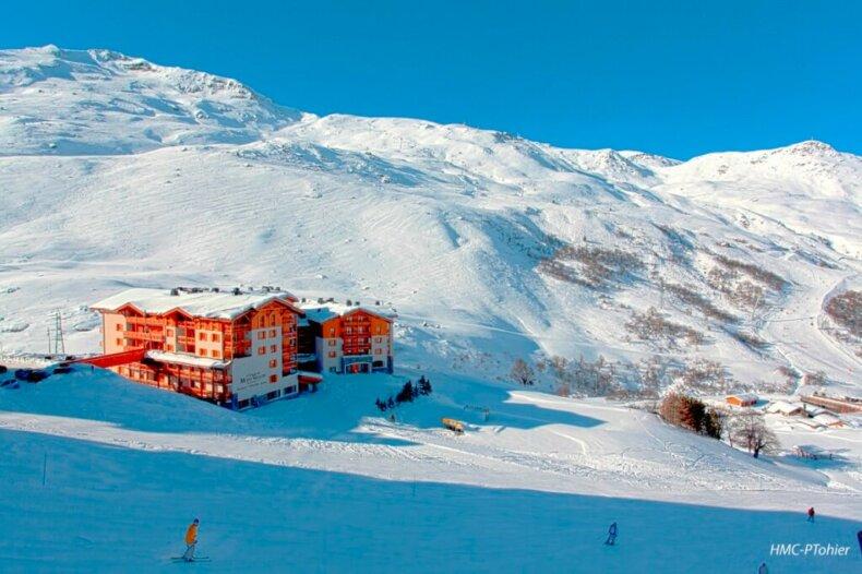 Chalet-appartement Du Mont Vallon Spa Resort: luxe appartementen aan de piste in Les Menuires
