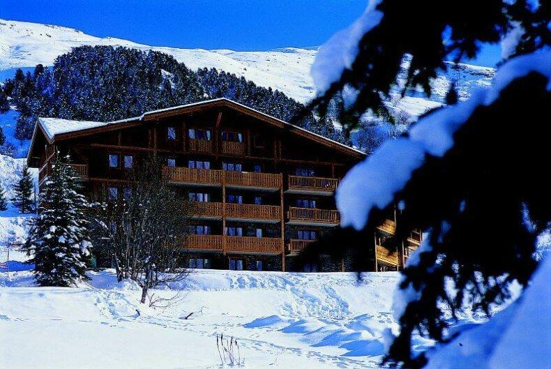 Chalet-appartement Le Hameau des Airelles : 4* appartementen met zwembad en wellness in Les Menuires